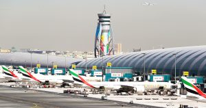 Dubai International Airport: The largest airport in the world in terms of international passenger traffic