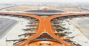 King Abdulaziz International Airport: Can accommodate the most number of aircraft in the world