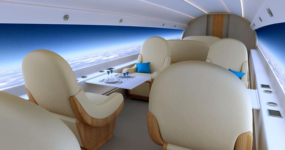 طائرة بدون نوافذ