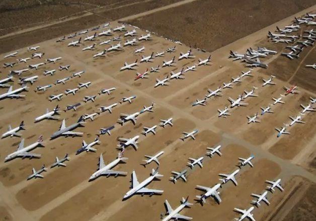 ما هو مصير الطائرات القديمة بعد أن تتوقف عن العمل؟