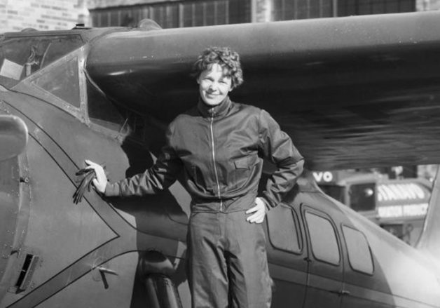 Aviation pioneers: Amelia Earhart