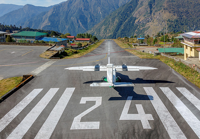The most impressive airport runways around the world