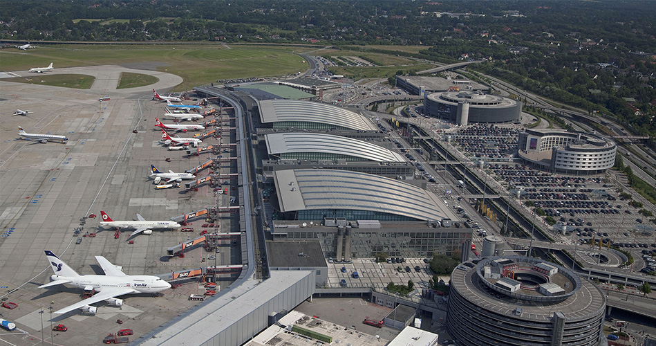 2- مطار هامبورج، ألمانيا
