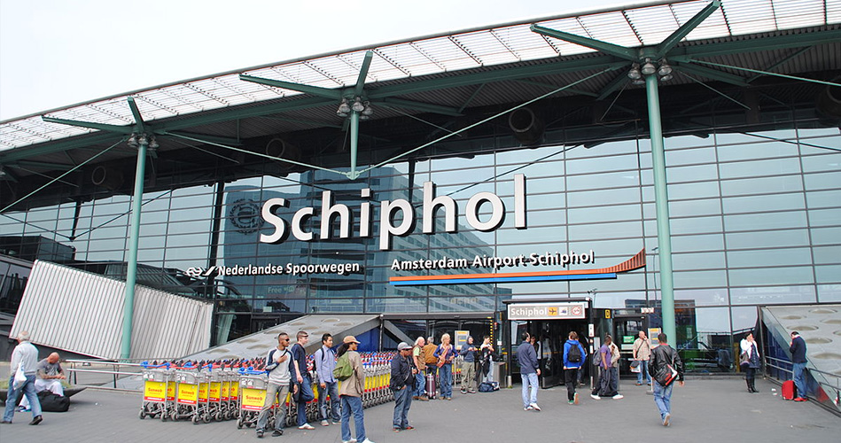 5- Amsterdam Airport Schiphol, Netherlands
