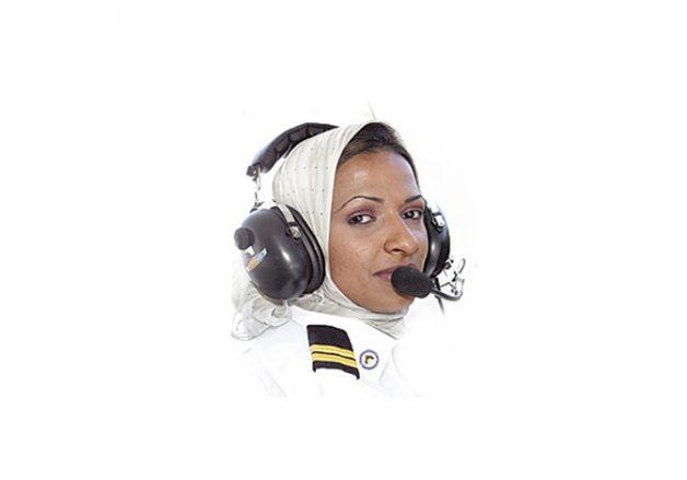 هنادي الهندي: أول امرأة سعودية تحصل على رخصة طيران