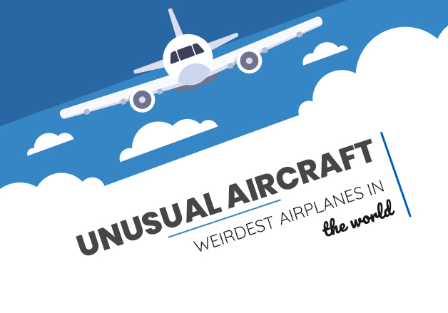 Unusual aircraft: Weirdest airplanes in the world